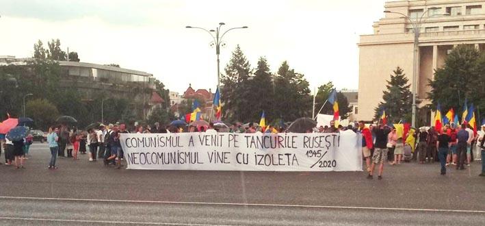 Protest Legea carantinării